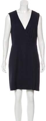 Tory Burch Sleeveless Surplice Dress