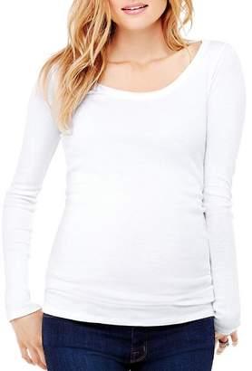 Ingrid & Isabel Maternity Long Sleeve Scoop Neck Tee