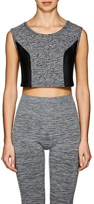 Live the PROCESS LIVE THE PROCESS WOMEN'S GEOMETRIC JERSEY CROP TOP