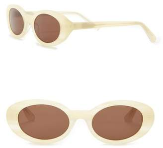 Elizabeth and James McKinley 51mm Oval Sunglasses