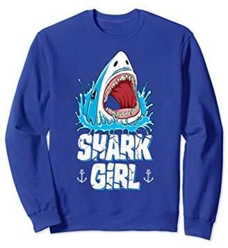 Shark Girl Sweatshirt Family Matching Women Jawsome Tee Gift