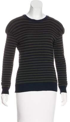 Nina Ricci Striped Wool Sweater