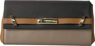 Calvin Klein Brooke Tumbled Leather Clutch