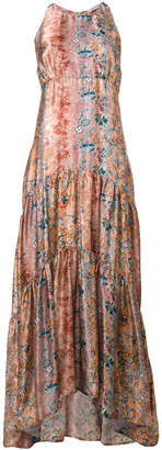 DAY Birger et Mikkelsen Black Coral floral print maxi dress