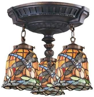 Elk Lighting 997-AW-12 Mix-N-Match Traditional Semi Flush Mount Ceiling Light