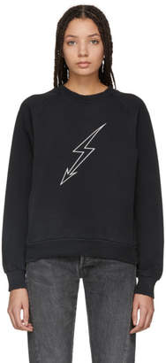 Givenchy Black Lightning Sweatshirt