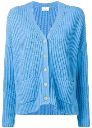 Allude ribbed knit cardigan