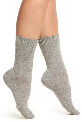 B.ella Moda Cashmere Blend Crew Socks $45 thestylecure.com