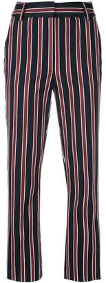 Frame striped tailored trousers