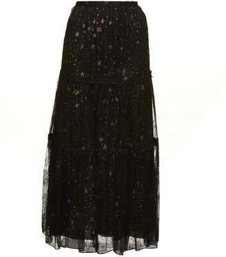 Moschino Tulle Star Skirt
