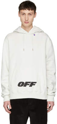 Off-White Off White  Wing Off Logo Hoodie