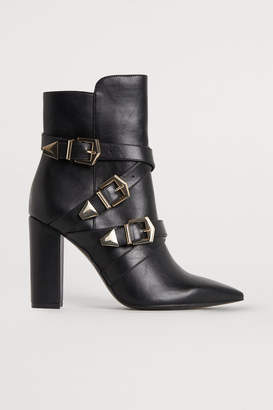 H&M Boots with metal buckles - Black