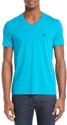 Men's Burberry Brit 'Lindon' V-Neck Cotton T-Shirt $105 thestylecure.com