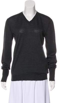 Miu Miu Knit Long Sleeve Top