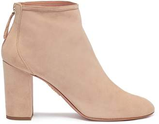 Aquazzura 'Downtown 85' suede ankle boots