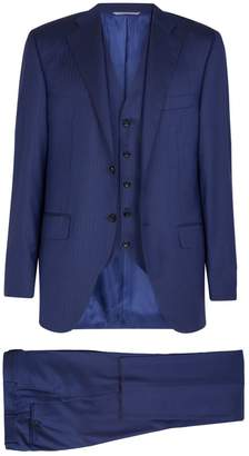 Canali Wool Three-Piece Suit