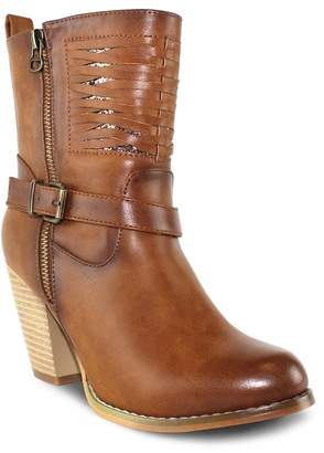 Olivia Miller South Street Women's Chunky Heel Boots