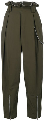 Alexander Wang ball chain trim trousers $620.40 thestylecure.com