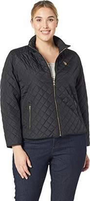 U.S. Polo Assn. Women's Plus Size Moto Jacket