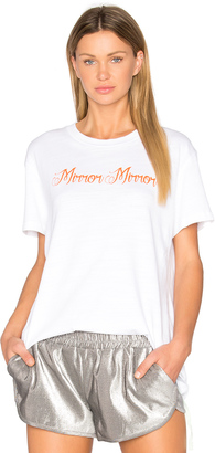 OFF-WHITE Mirror Mirror Tee $285 thestylecure.com