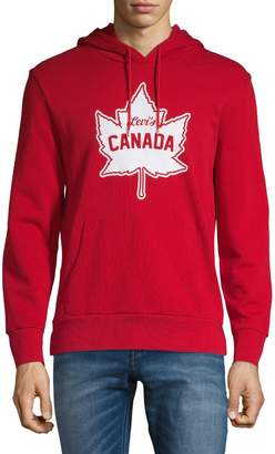 Levi's Canada Day Leaf Cotton Fleece Hoodie