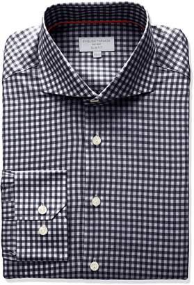 English Threads Men's Slim Fit Gingham Dress Shirt