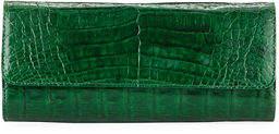 Judith Leiber Couture Kate Cayman Crocodile Clutch Bag