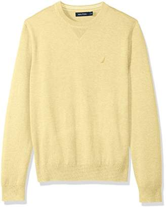 Nautica Light Weight Crew Neck Solid Sweater