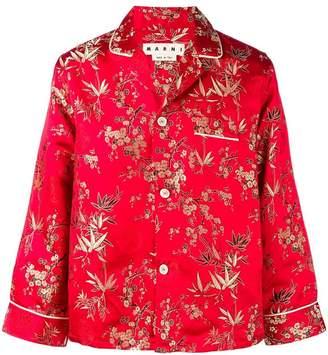 Marni oriental-like shirt