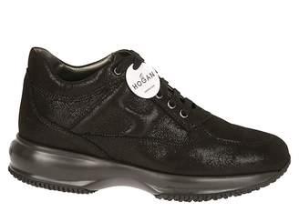 Hogan Reptile Effect Sneakers