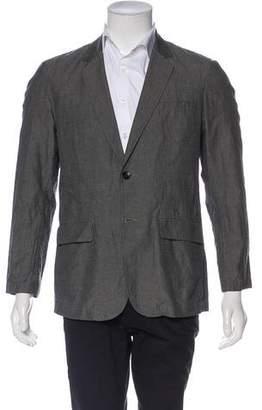 Rag & Bone Woven Two-Button Blazer