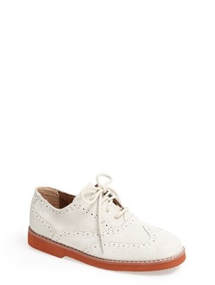 Boy's Florsheim 'No String' Wingtip Oxford $59.95 thestylecure.com