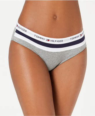 Tommy Hilfiger Women's Color Block Logo Bikini R14T049
