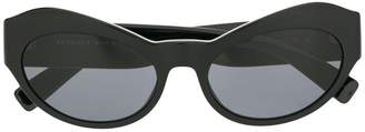 Versace Eyewear curved mass sunglasses