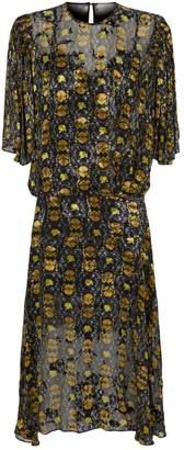 Preen Lydia Floral Midi Dress