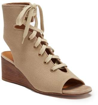 Chloé Ghillie Lace-Up Wedge Sandal