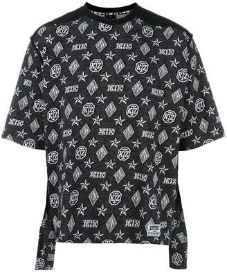 Kokon To Zai monogram print T-shirt