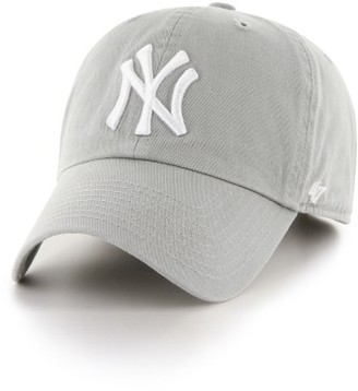 Women's '47 Clean Up Ny Yankees Baseball Cap - Grey $25 thestylecure.com