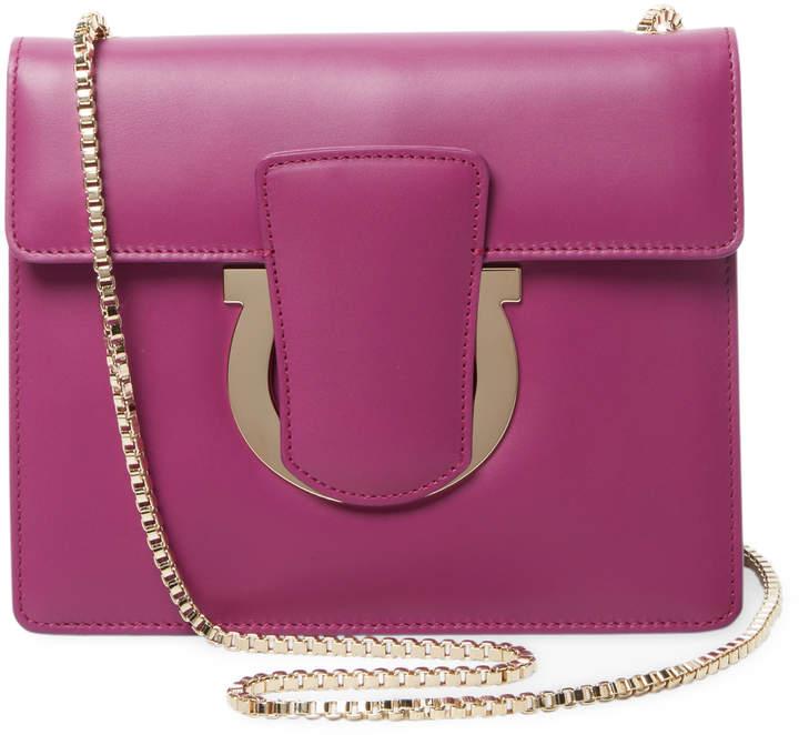 Salvatore Ferragamo Women's Medium Gancini Shoulder Bag