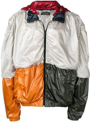 Y/Project Y / Project colour-block rain jacket