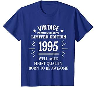 Vintage 1995 Shirt Funny 23 Years Old 23rd Birthday Gift