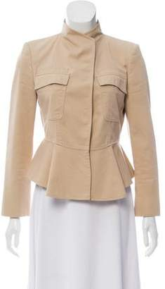 Givenchy Structured Fluted Jacket