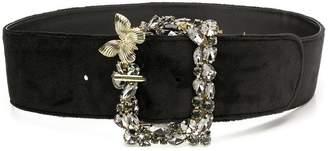 Twin-Set crystal-embellished belt