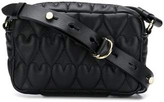 RED Valentino heart quilted shoulder bag