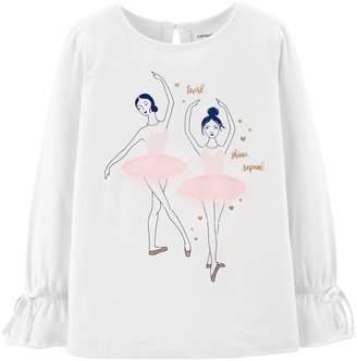 Carter's Girls 4-12 Ballerina Top