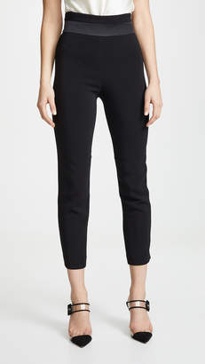 Cushnie High Waisted Cropped Slim Pants