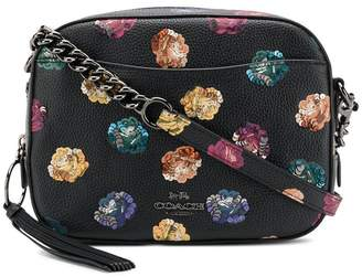 Coach embellished camera bag