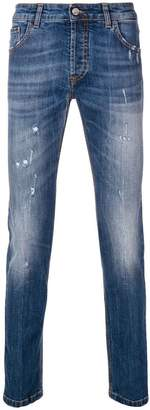 Entre Amis skinny washed jeans