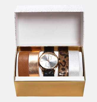 Avenue Rose Gold Watch with Interchangeable Band Set