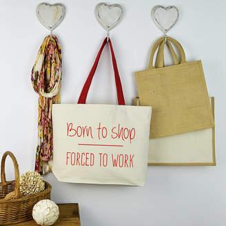 Andrea Fays 'Born To Shop' Shopping Bag